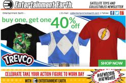Entertainment Earth: Back To The Future, Hellboy, Deadpool, Batman, Batman v Superman & More