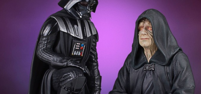 Gentle Giant – Darth Vader Statue & First Order Flametrooper Bust