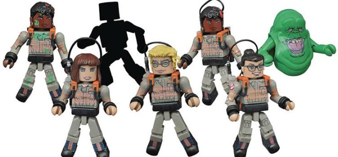 Ghostbusters Minimates Two Pack Series 1