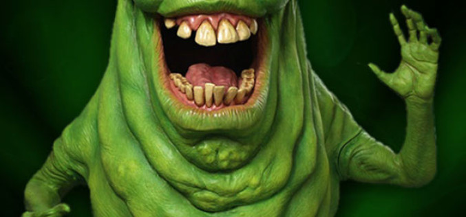 Hollywood Collectibles Announces Life Size Ghostbusters Slimer Replica