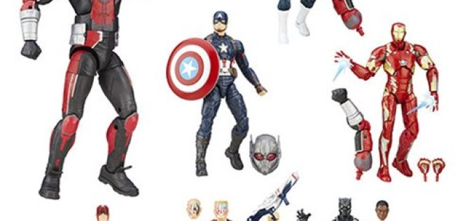 Hasbro Marvel Legends Captain America: Civil War 6″ Wave 2 In Stock At Entertainment Earth