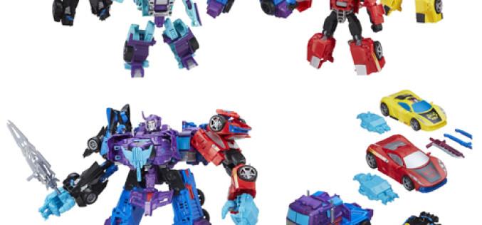 Hasbro Transformers Combiner Wars Generation 2 Menasor Stunticons Boxed Set Available Now