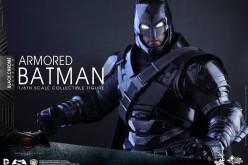 Hot Toys Announces Batman v Superman – Black Chrome Armored Batman Figure