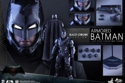 Hot Toys Batman v Superman – Black Chrome Armored Batman Figure Pre-Order