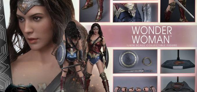 Hot Toys Batman v Superman: Dawn Of Justice Wonder Woman Sixth Scale Figure Pre-Order