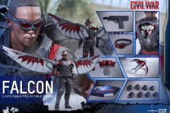 Hot Toys Captain America: Civil War Falcon Sixth Scale Figure Pre-Orders