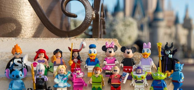 LEGO Disney Mini-Figures Official Images