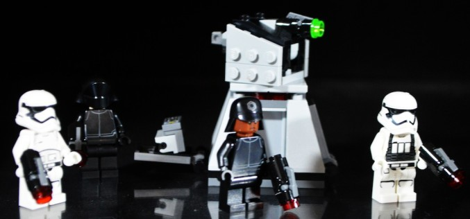 LEGO Star Wars 75132 First Order Battle Pack Review