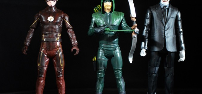 Mattel DC Comics Multiverse 6″ Wave 1 – Arrow, The Flash, & The Joker Review