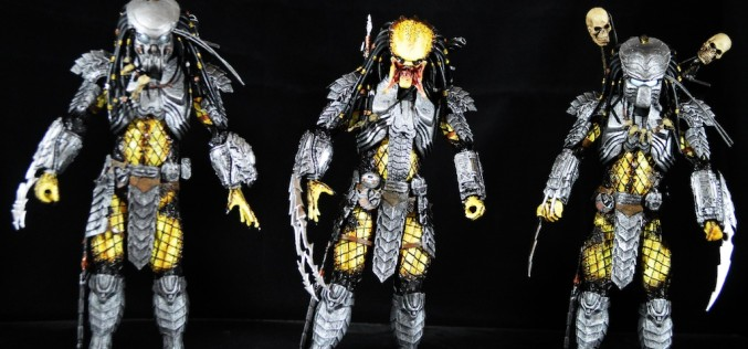 NECA Toys Predator Series 14 – Alien Vs. Predator Scar, Celtic, & Chopper Review