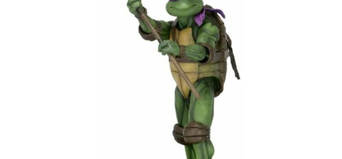 NECA Toys Teenage Mutant Ninja Turtles 1990 Movie 1/4″ Scale Donatello Figure Pre-Orders & Shipping Soon
