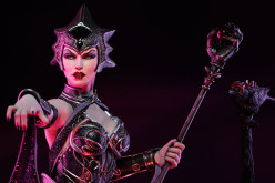 Sideshow Masters Of The Universe Evil Lyn Statue Details