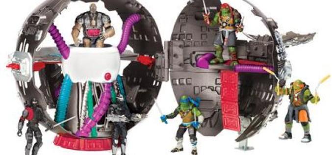 Playmates Toys Teenage Mutant Ninja Turtles: Out Of The Shadows Technodrome On Sale For $30