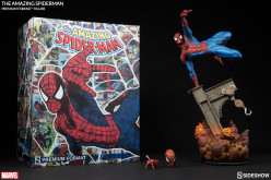 New Photos Of Sideshow's The Amazing Spider-Man Premium Format Figure