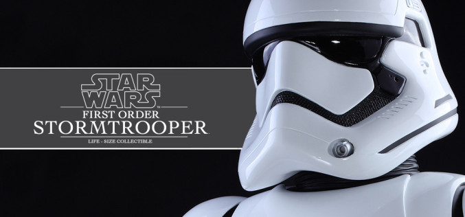 Hot Toys First Order Stormtrooper Star Wars Life-Size Figure Pre-Orders