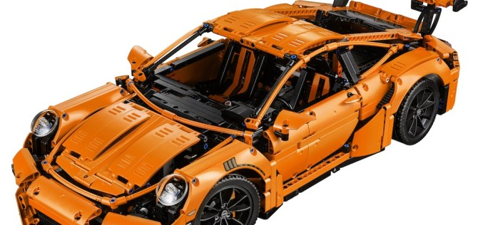 LEGO Technic Porsche AG Model Announced