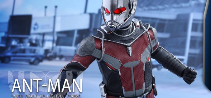 Hot Toys Captain America: Civil War Ant Man Sixth Scale Figure Pre-Orders