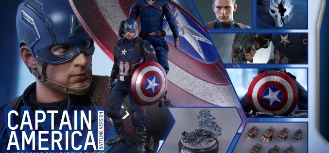 Hot Toys Captain America Battling Version Sixth Scale Figure Pre-Orders