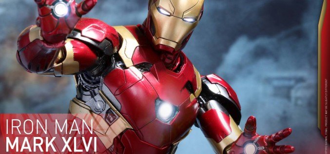 Hot Toys Diecast Captain America: Civil War – Iron Man Mk 46