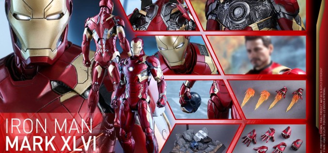 Hot Toys Diecast Captain America: Civil War – Iron Man Mk 46 Pre-Orders