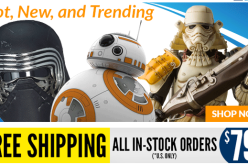 Entertainment Earth: Star Wars, Batman v Superman, The Walking Dead & More