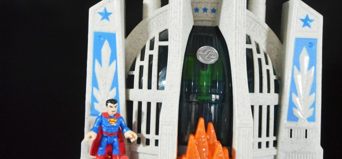 Fisher-Price Imaginex Hall Of Justice Playset Review