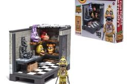 McFarlane Toys: Five Nights Of Freddy Backstage Construction Set & 8-Bit Construction Figures Display Case