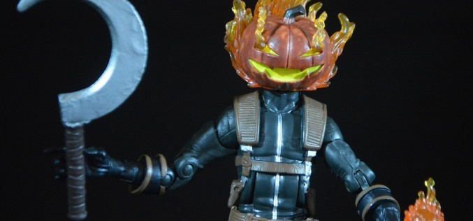Hasbro Spider-Man Infinite Legends Absorbing Man Series – Jack O' Lantern Review
