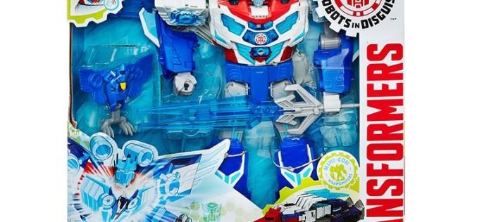 Hasbro Transformers Robots In Disguse Power Surge Optimus Prime