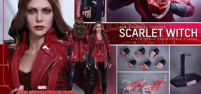 Hot Toys New Avengers Scarlet Witch Sixth Scale Figure Pre-Orders