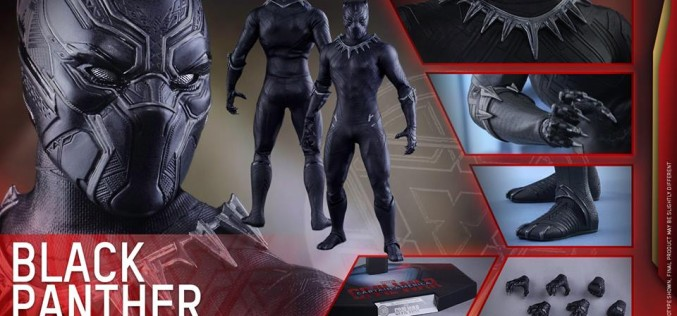 Hot Toys Captain America: Civil War Black Panthor Sixth Scale Figure Pre-Order