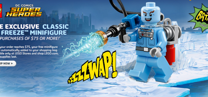 LEGO Shop Exclusive Batman 1966 Mr. Freeze Mini-Figure Available Now