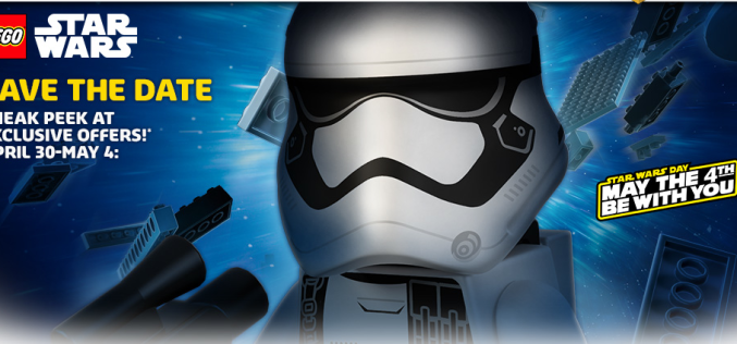 LEGO Shop Previews Upcoming Star Wars Sale Starting April 30th