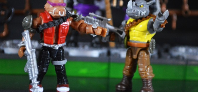 Mega Bloks Teenage Mutant Ninja Turtles Bebop & Rocksteady Villains Pack Review