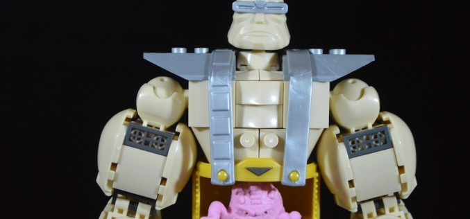 Mega Bloks Teenage Mutant Ninja Turtles Krang's Rampage Set Review