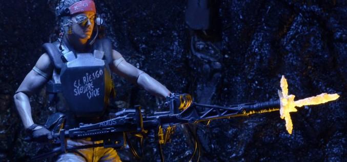 NECA Toys Reveals Aliens 7″ Scale Vasquez Figure