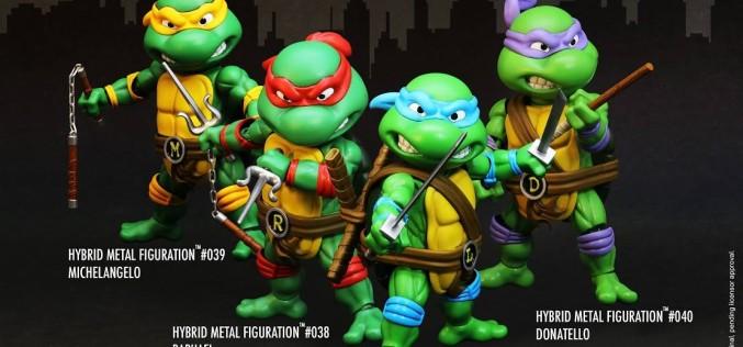 Herocross Teenage Mutant Ninja Turtles Hybrid Metal Figuartion Figures