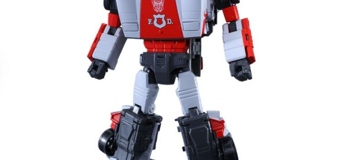Takara-Tomy Transformers Masterpiece MP-14+ Red Alert Anime Color Edition