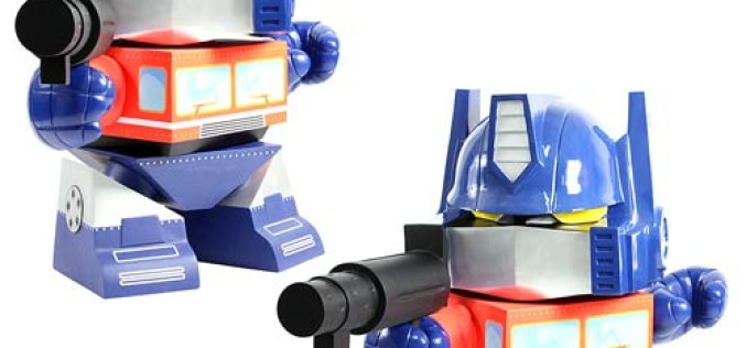 The Loyal Subjects Transformers Optimus Prime 4 Foot Fiberglass Statue