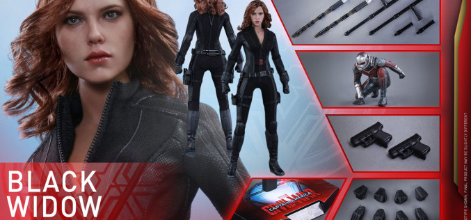 Hot Toys Captain America: Civil War Black Widow Sixth Scale Figure Pre-Order