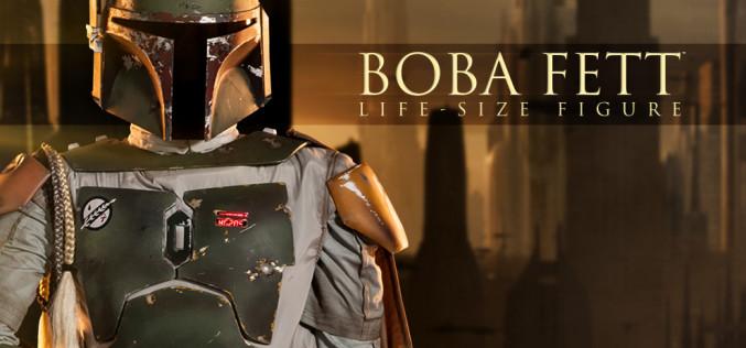 Sideshow Boba Fett Star Wars Life-Size Figure Pre-Orders