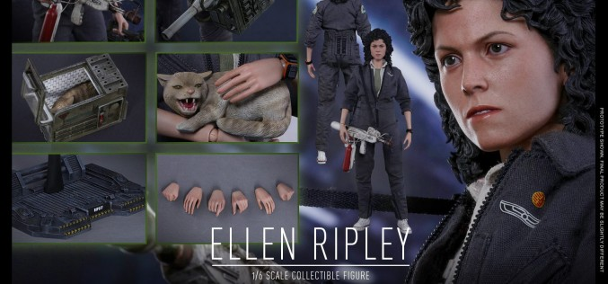 Hot Toys Alien – Ellen Ripley Sixth Scale Figure Pre-Orders