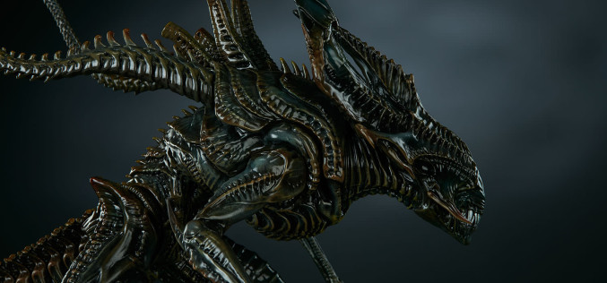 Sideshow Alien King Maquette Official Images & Details