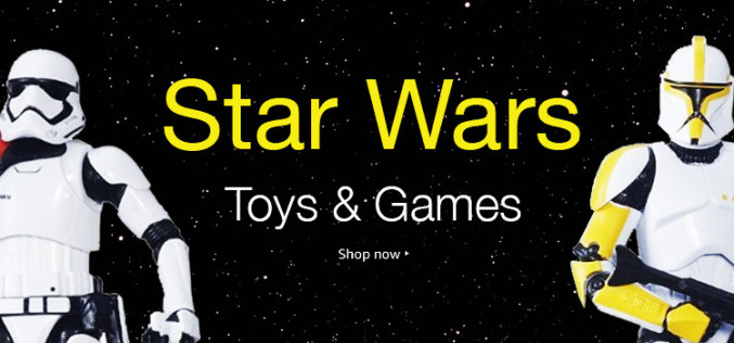 Amazon Launches Star Wars Day Sale On Toys, Games, & More