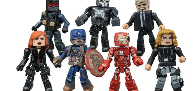 "Captain America: Civil War Minimates Series 2 – Ant Man & Falcon Coming To Toys ""R"" Us"