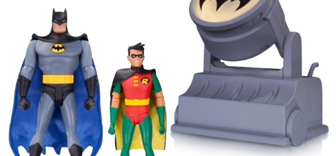 DC Collectibles Shipping This Week: Batman The Animated Series Batmobile & Batsignal