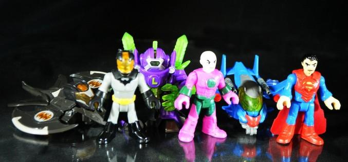 Fisher Price Imaginext DC Super Friends Battle Armor Batman, Superman, & Lex Luthor Review
