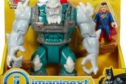 Fisher-Price Imaginext DC Super Friends Deluxe Doomsday With Superman Listing On Amazon