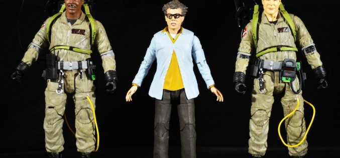 Ghostbusters Select Series 1 –  Winston Zeddemore, Ray Stanz, & Louis Tully Review