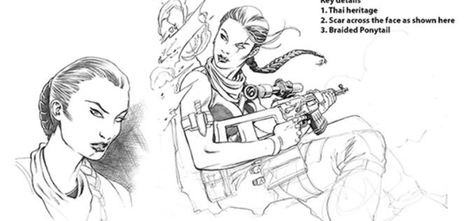 Hasbro G.I. Joe Kindle Worlds Fan Vote Stiletto Figure Update